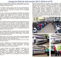 INFORMATEC AGOSTO-SEPTIEMBRE 2017