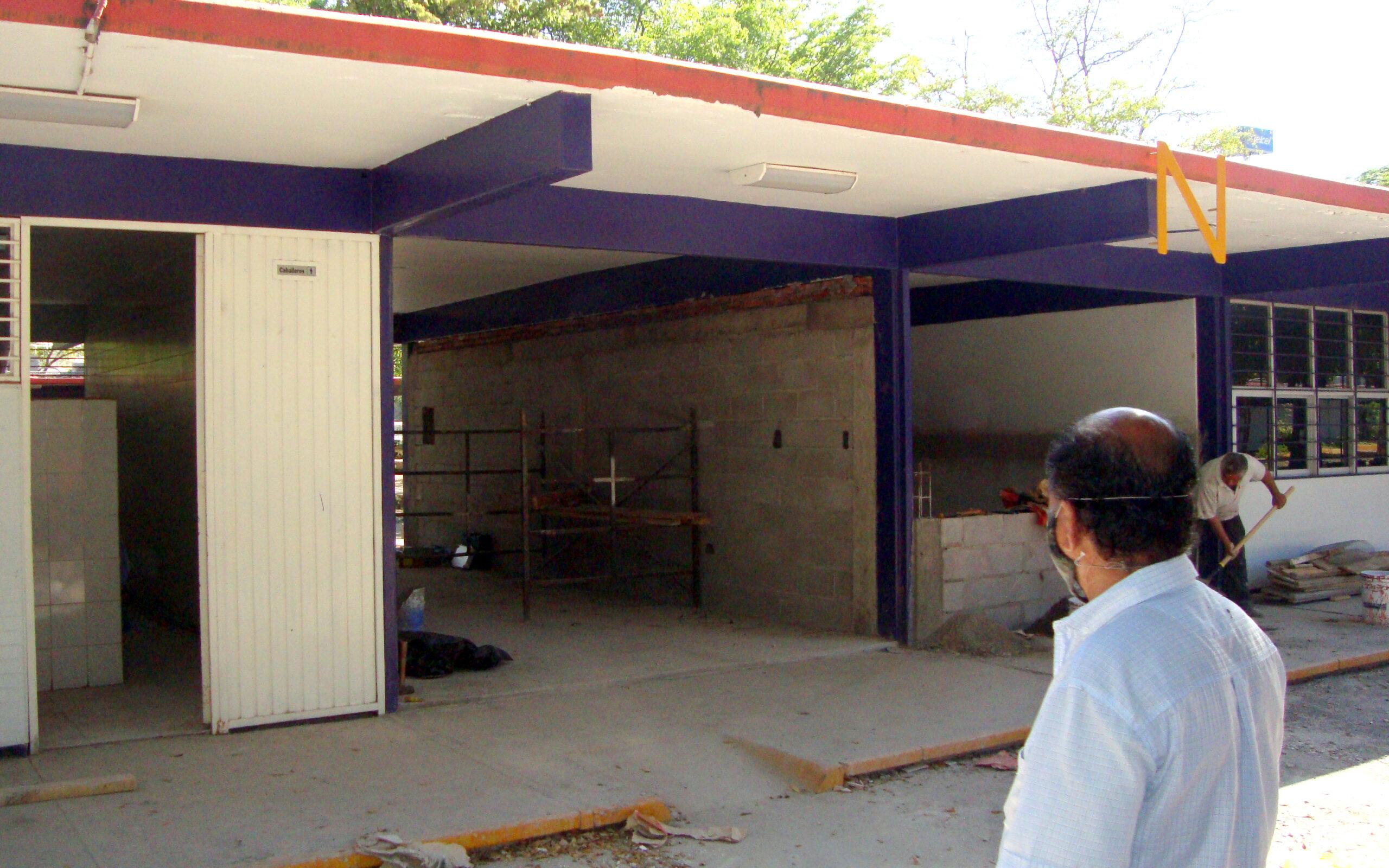 Se realizan diversas obras de construcción y remodelación en el Campus Culiacán
