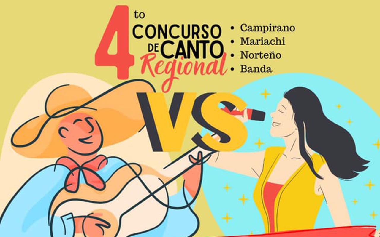 Organiza el campus Culiacán el 4to. Concurso Nacional de Canto Regional en modalidad virtual