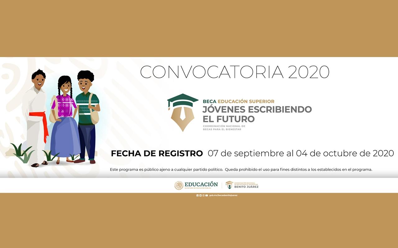 Convocatoria Jóvenes Escribiendo el Futuro 2020