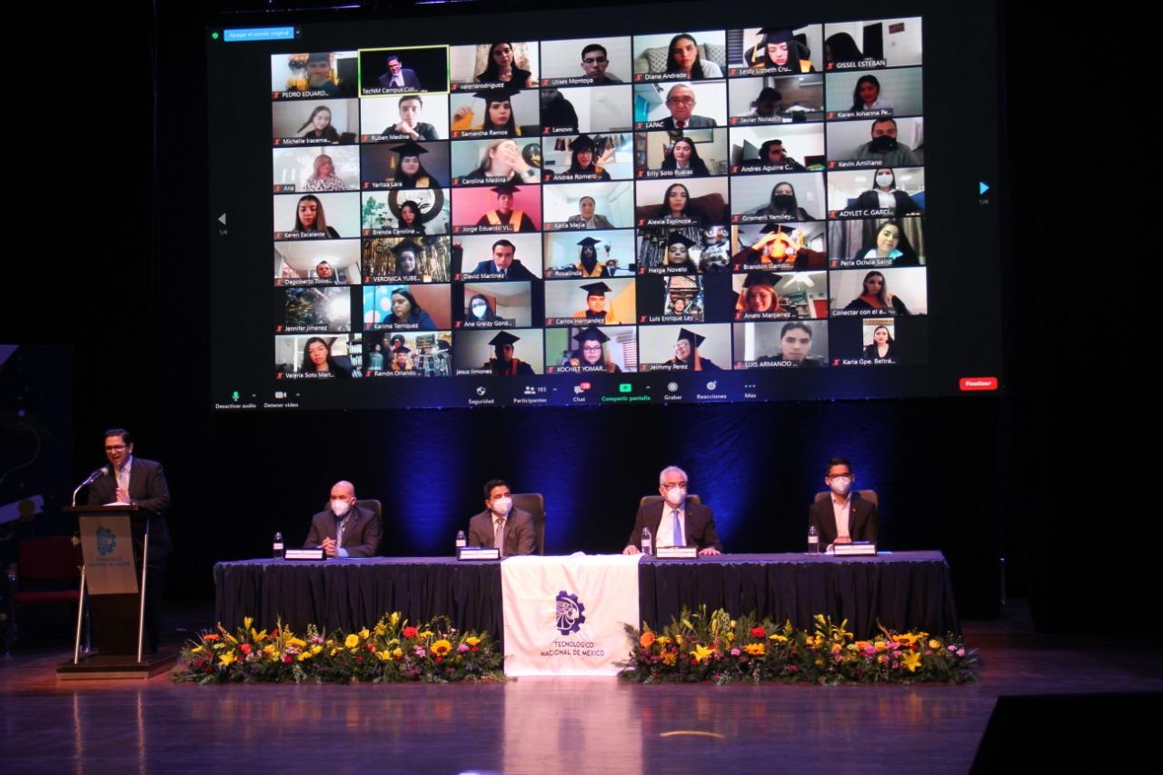 Se gradúan alumnos del TecNM Campus Culiacán en ceremonia virtual