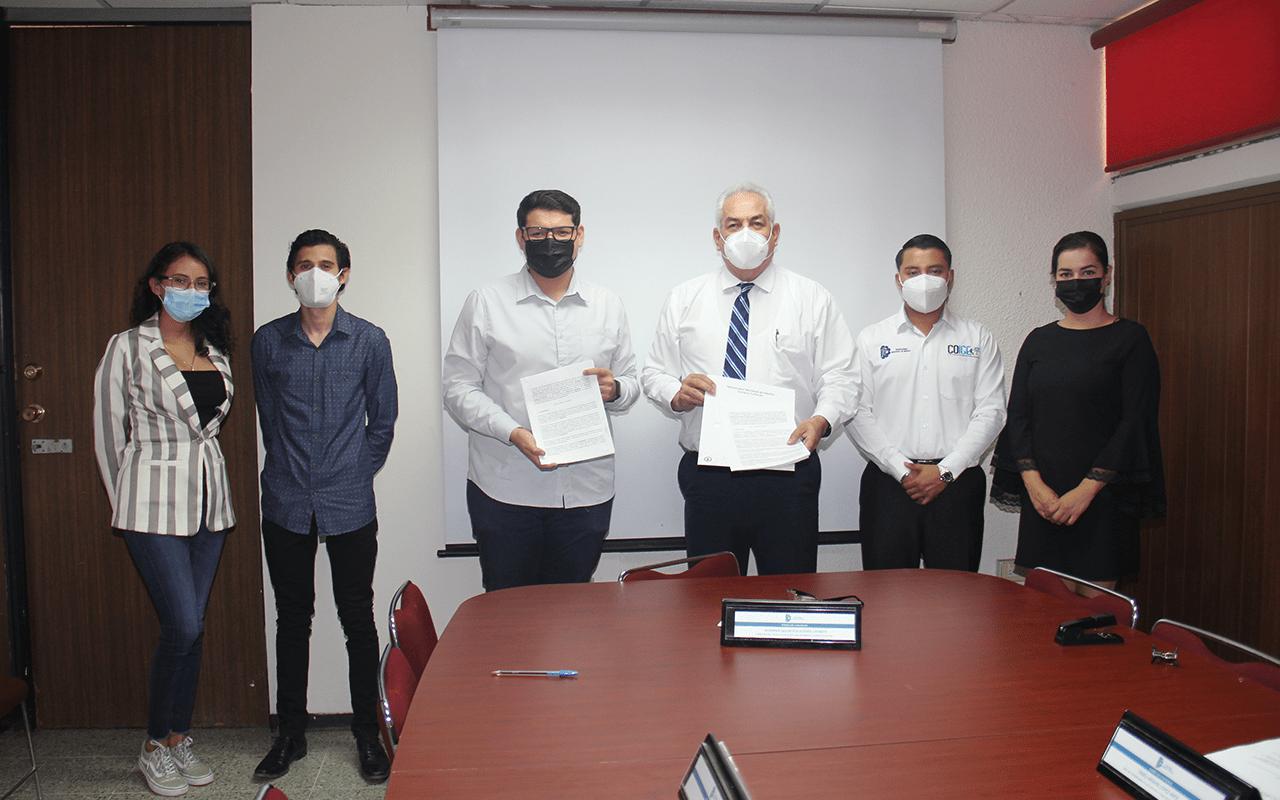 Firman convenio de colaboración Tecnológico de Culiacán y el Consejo Nacional de Ingeniería en Gestión Empresarial A. C.