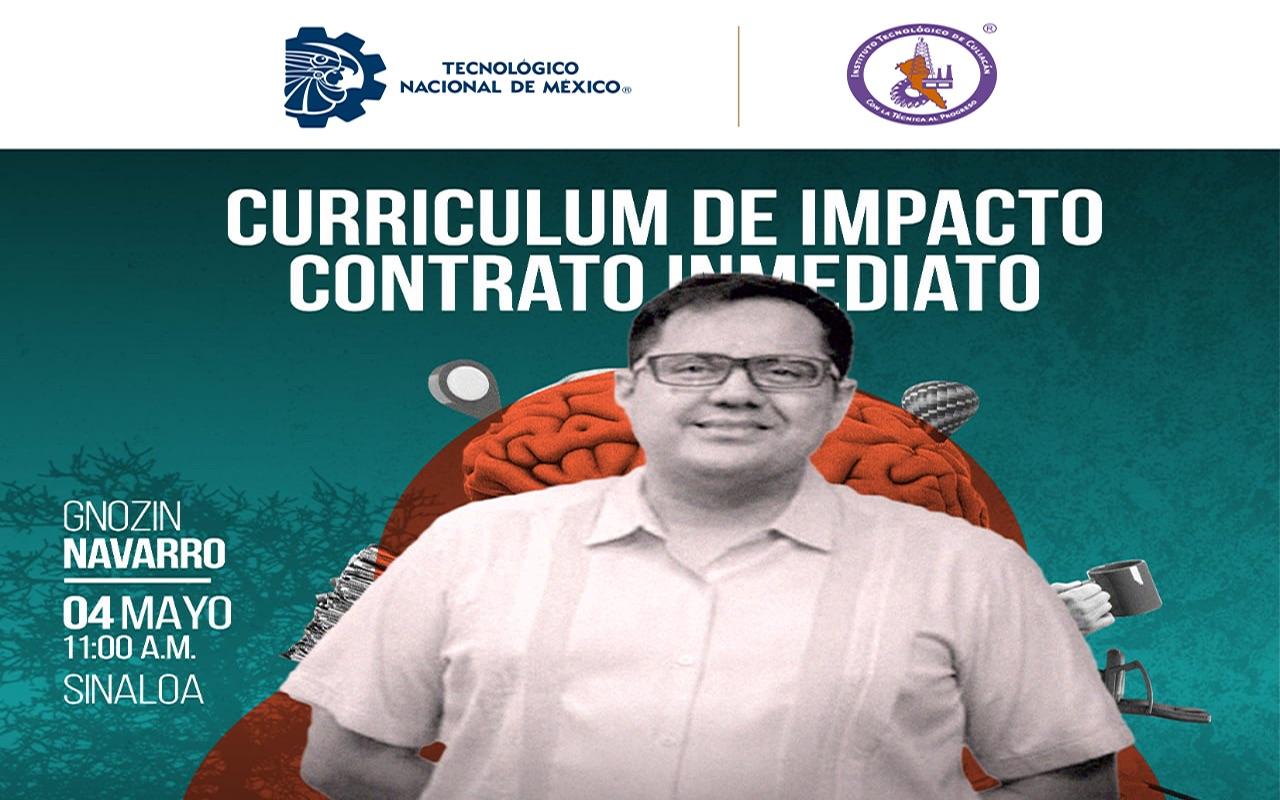 Webinar: Curriculum de impacto, contrato inmediato