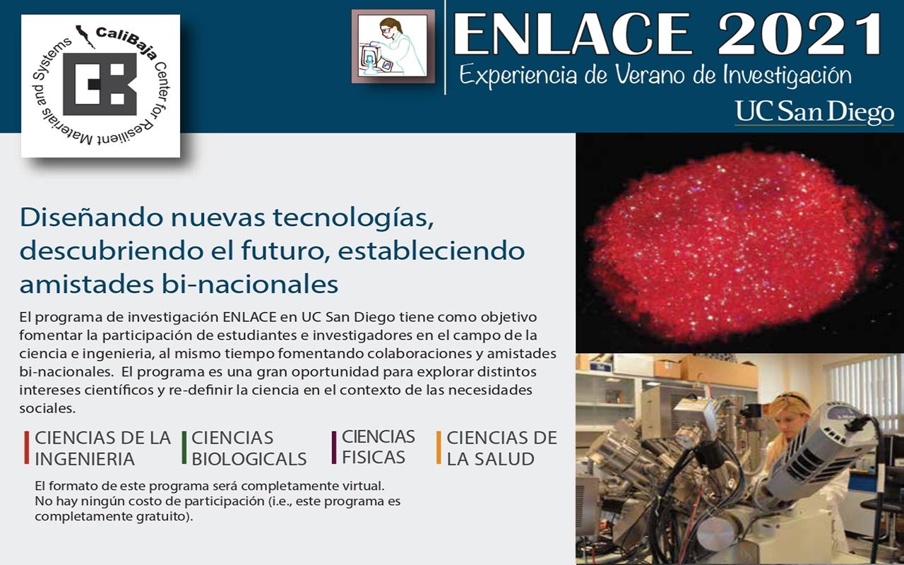 Programa de investigación ENLACE 2021 en UC San Diego
