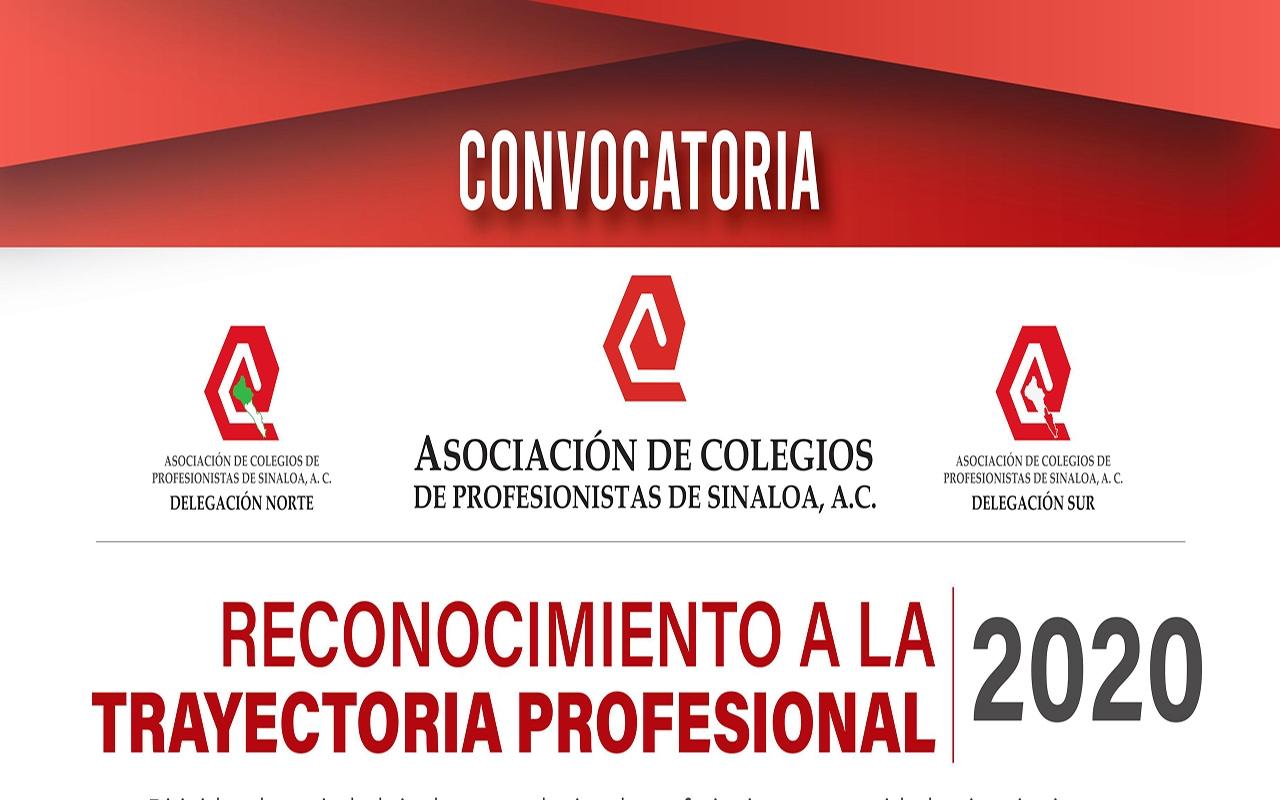 Convocatoria: Reconocimiento a la trayectoria profesional 2020