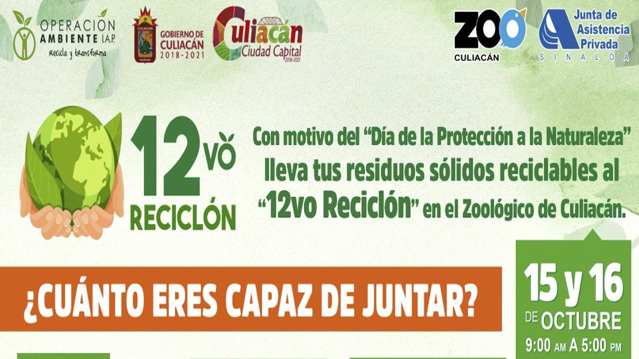 Participa en el 12vo Reciclón «Concurso el arte de reciclar»